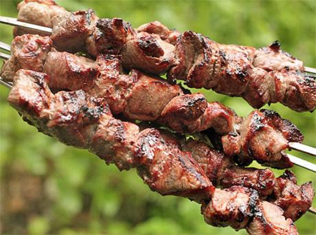 Самый вкусный простой шашлыка из свинины